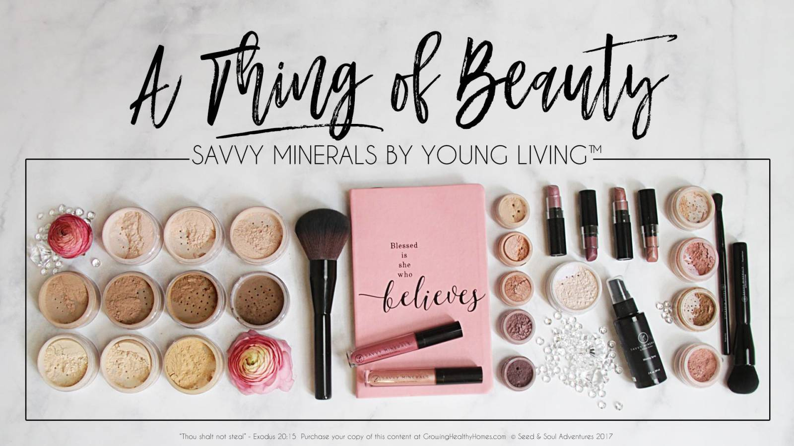 Savvy Minerals by Young Living: A Thing of Beauty!  Hosted by Diamond April Mier