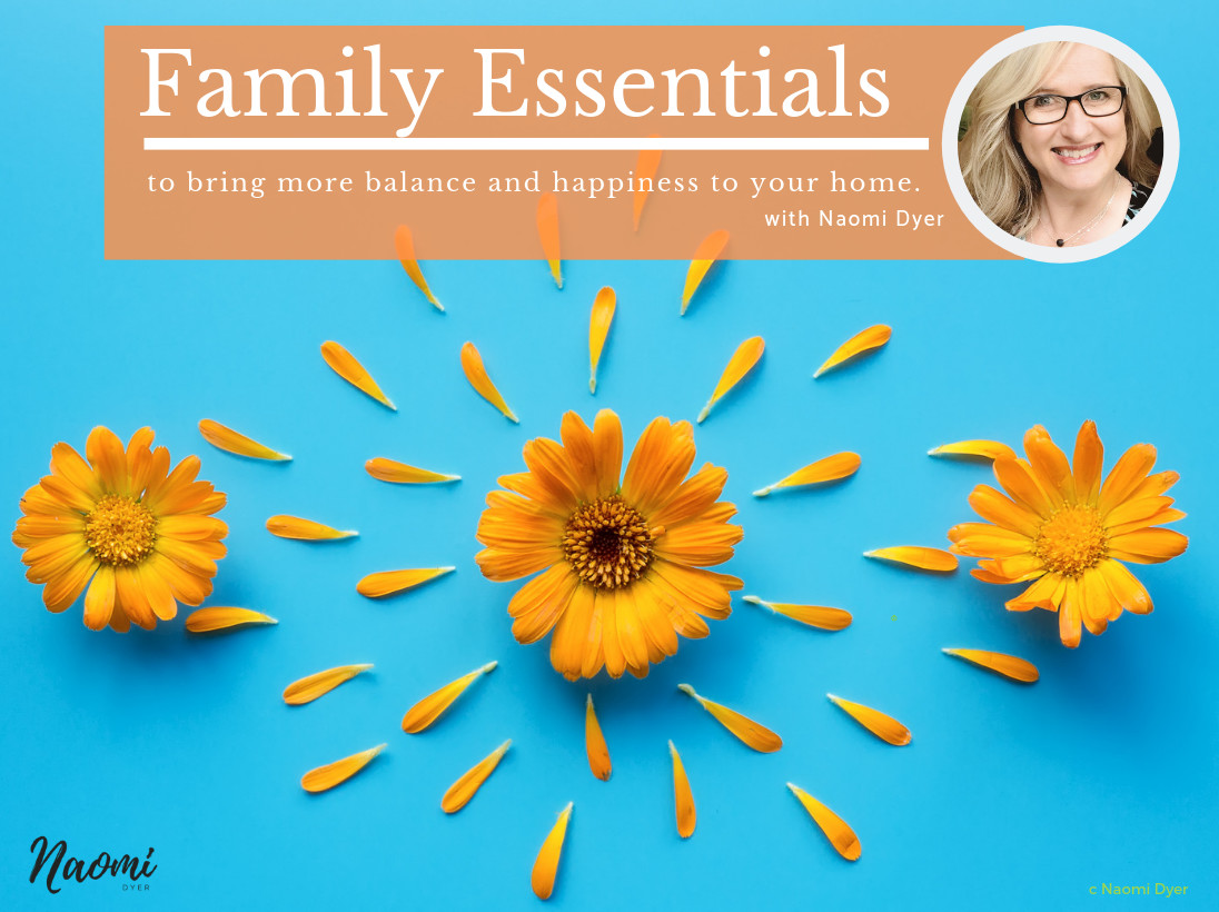 PERTH!!! - Family Essentials - to bring more balance and happiness to your home - Naomi Dyer