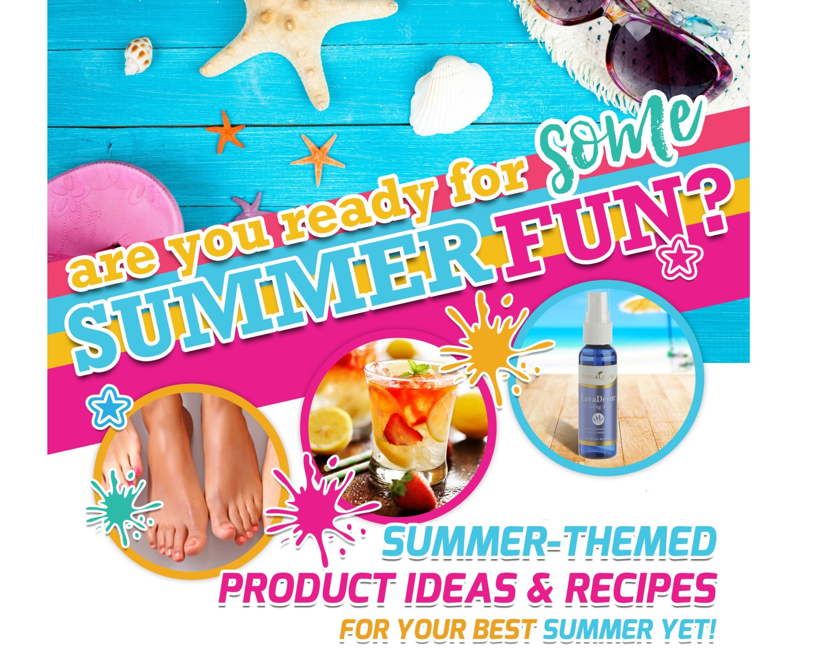Summer Fun with Young Living