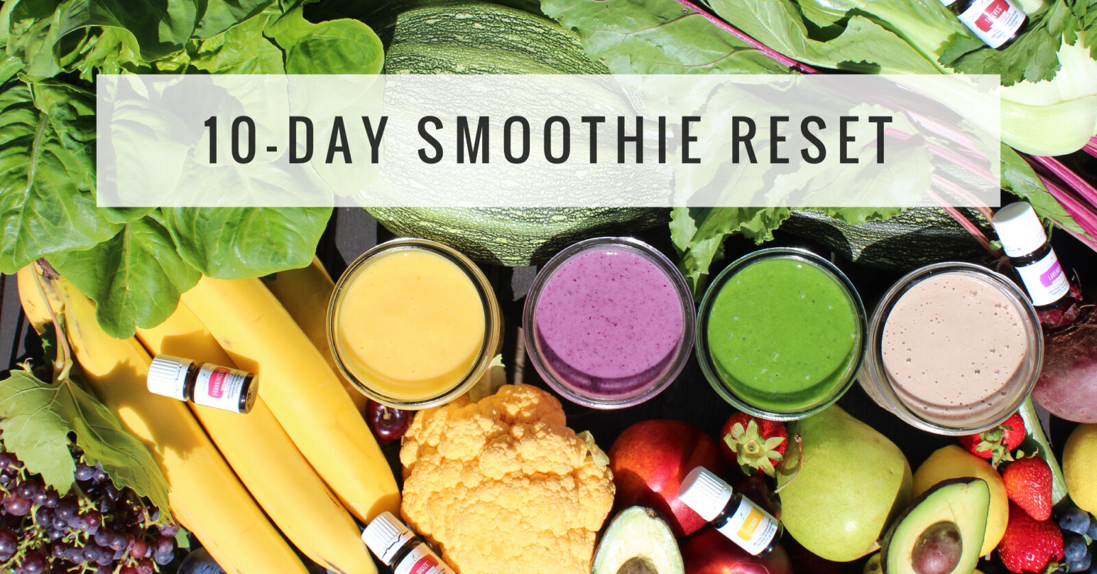 10-DAY SMOOTHIE RESET