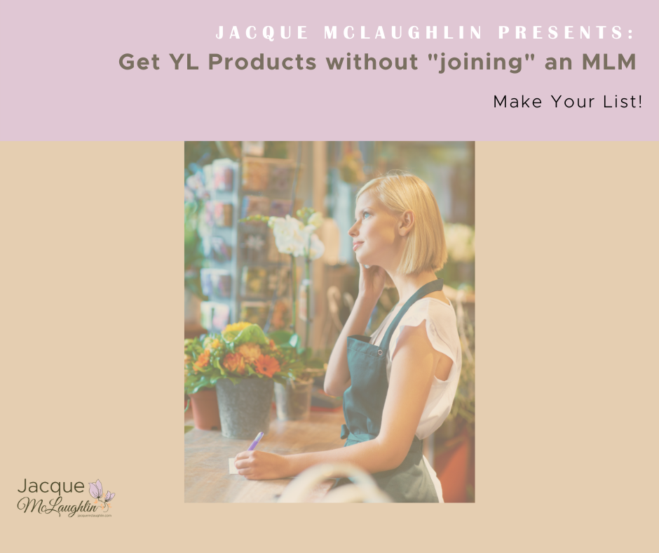 Get YL Products Soon Without Having to Join an MLM!