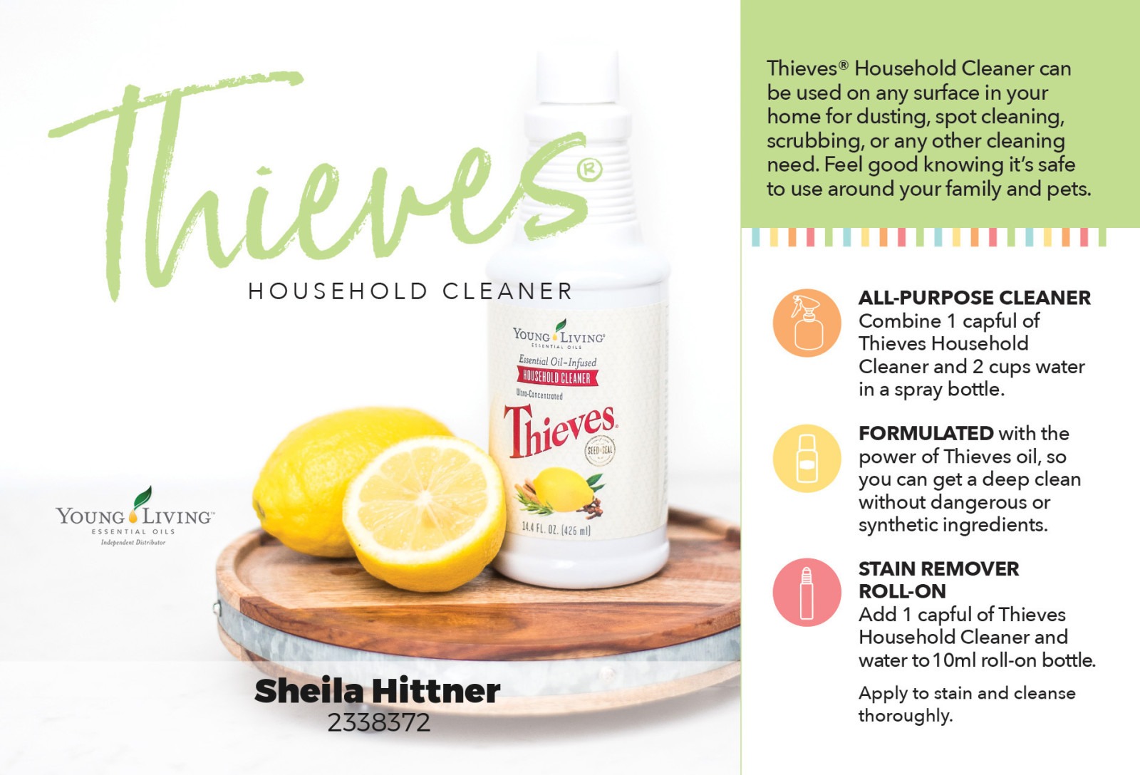 Kick those cleaning chemicals to the curb!