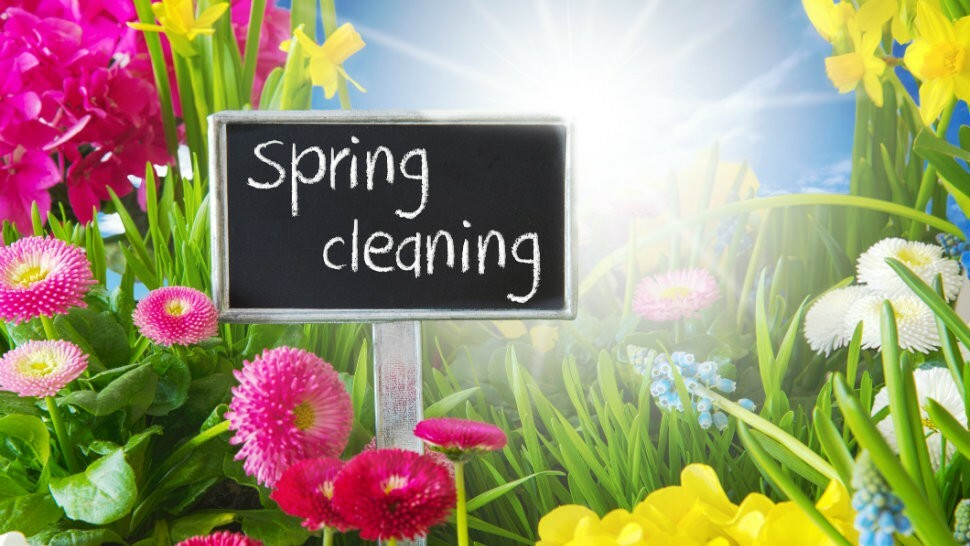 Spring cleaning (without harsh chemicals) make and take