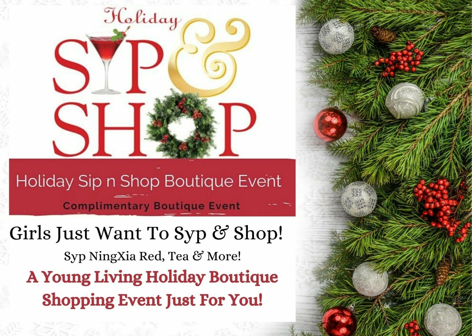 Holiday Boutique for YOU