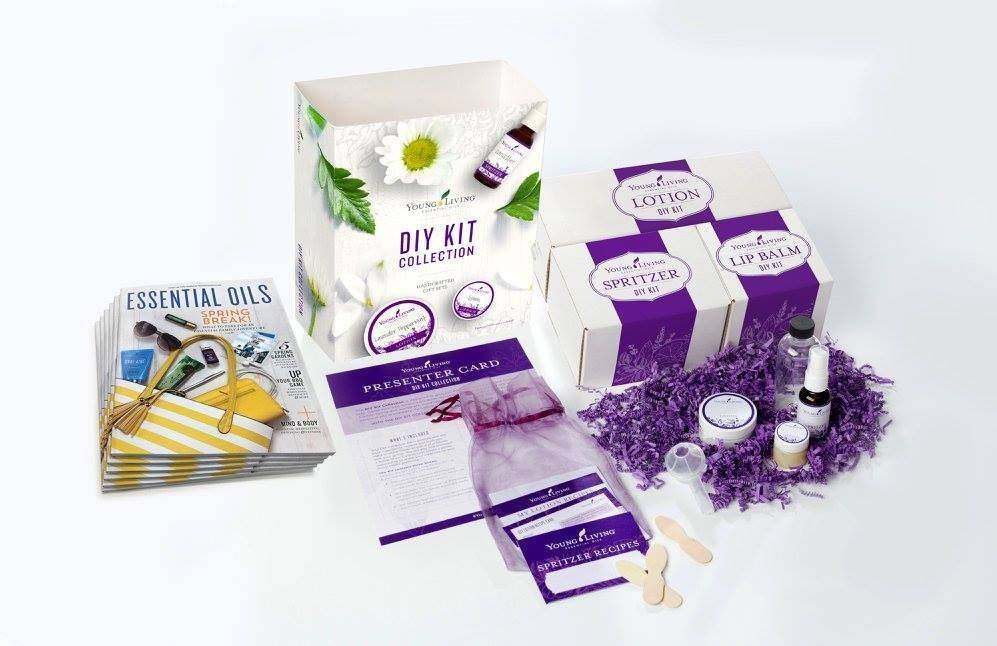 DIY Class with Essential Oils
